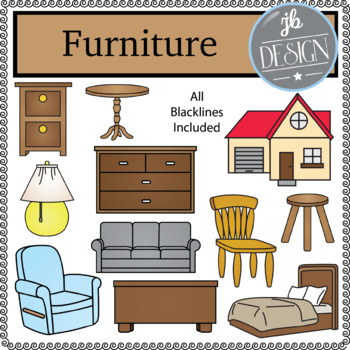Furniture (JB Design Clip Art for Personal or Commercial Use)