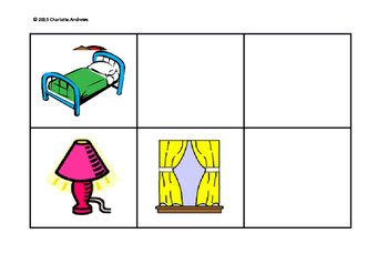 Furniture Pairs! Great for Memory or Fun Activity