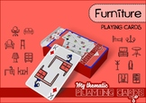 Furniture Themed Playing Cards Deck