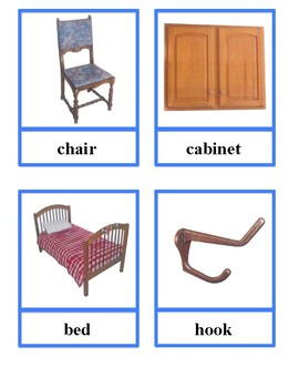 Furniture classification cards