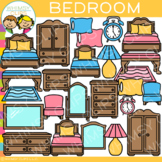 Furniture for the Bedroom Clip Art