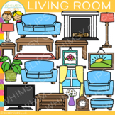 Furniture for the Living Room Clip Art