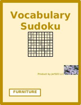 Furniture in English Sudoku