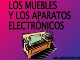 Furniture/Appliances (Los Muebles) Power Point in Spanish (42 slides)