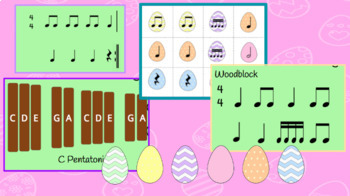 Furry Bunny: Orff based song for practicing rhythm composition