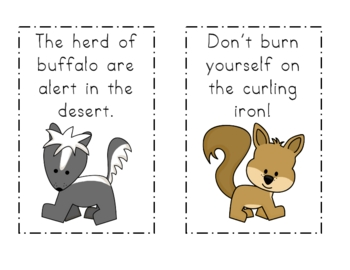 Furry Forest Friends! A Read the Room Center using R-Controlled Vowels