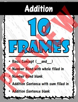 Furry Friends' 5 and 10 Frames for Addition and Subtraction
