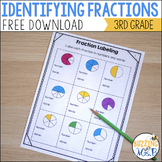 Furry Friends Fractions Freebie: Rectangle Fractions Naming