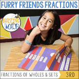 Furry Friends Fractions Pack: Parts of Wholes, Parts of Sets