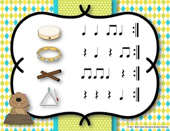 Furry Little Fellow - Groundhog's Day Song with Orff Accompaniment
