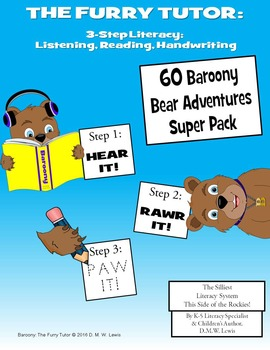 3-Step Listening Reading Writing Literacy 60 Passages