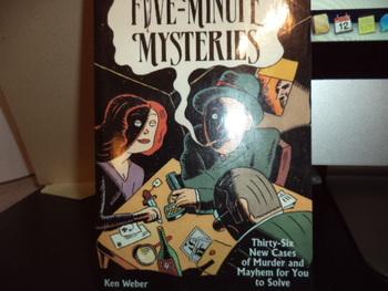 Furthur Five-Minute Mysteries ISBN 1-56138-90-X