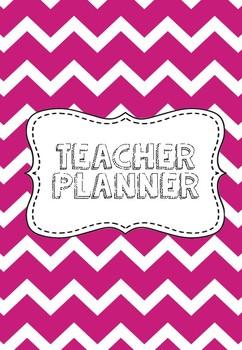 Fuschia Teacher Planner