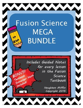 Fusion Science Guided Notes MEGA BUNDLE