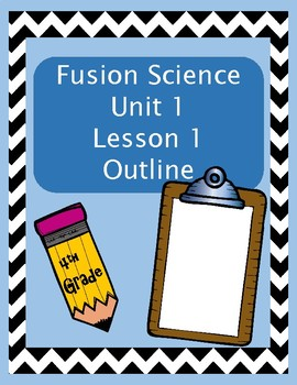 Fusion Science Unit 1 Lesson 1 Outline