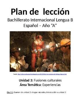 Fusiones culturales: IB Spanish unit plans