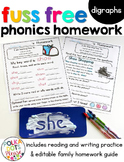Reading Homework Digraphs