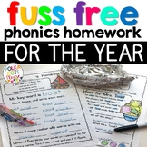 Phonics Homework for the YEAR | Distance Learning