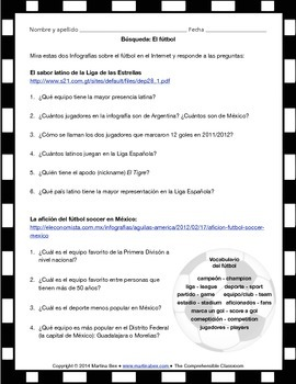 Cultural Activities: El fútbol en España