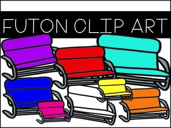 Futon Clip Art
