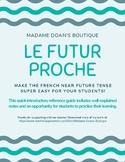 Futur Proche - French Near Future