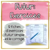 Futur Simple - 8 Fiches d'exercices