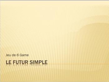 Futur Simple : Jeu de 6 game