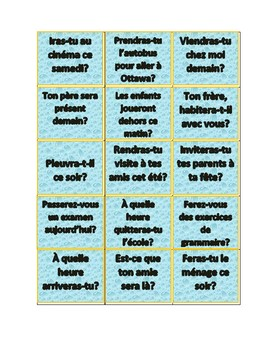 Futur simple_Cartes intéractives