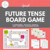 Future Tense Conjugation Board Game w/Bonus Activities!