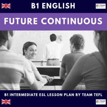 Future Continuous B1 Intermediate Lesson Plan For ESL