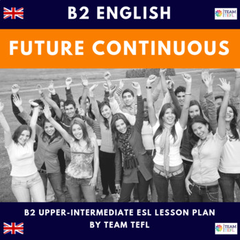 Future Continuous B2 Upper-Intermediate Lesson Plan For ESL