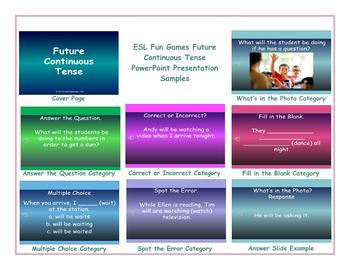Future Continuous Tense PowerPoint Presentation