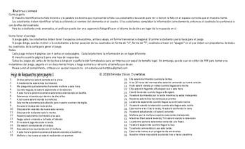 Future Continuous Tense Spanish Legal Size Photo Tic-Tac-Toe-Bingo Game