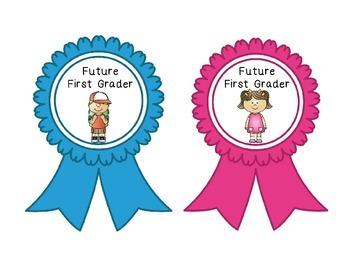 Future First Grader Ribbons