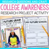 College Week Research Project for College Awareness and Career Week