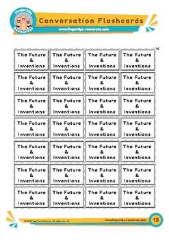 Future & Inventions - Conversation Flashcards