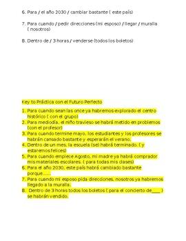 Future Perfect - 4 Exercises to practice