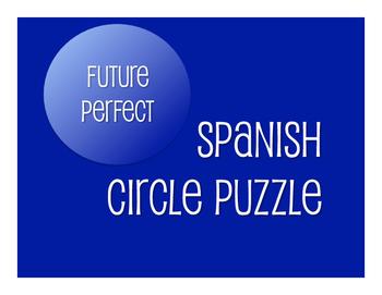 Spanish Future Perfect Circle Puzzle
