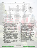 Future Perfect Continuous Tense Interactive Crossword Puzzle for Google Apps