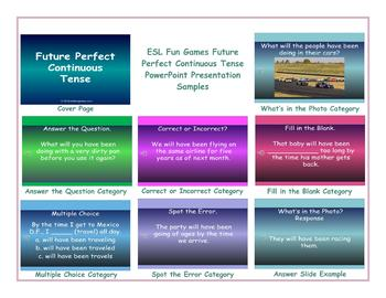 Future Perfect Continuous Tense PowerPoint Presentation