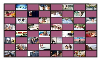 Future Perfect Continuous Tense Spanish Legal Size Photo Checkers Game