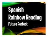 Spanish Future Perfect Rainbow Reading