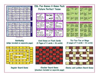 Future Perfect Tense 6 Board Game Bundle