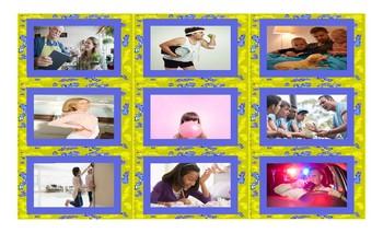 Future Perfect Tense Legal Size Photo Card Game
