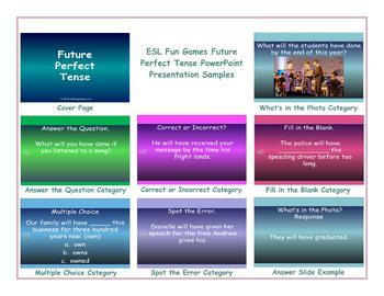 Future Perfect Tense PowerPoint Presentation
