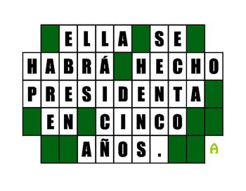 Spanish Future Perfect Wheel of Spanish
