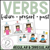 Future, Present, Past Verbs: Regular and Irregular No Print Required