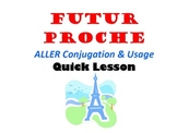 Future Proche with ALLER (Near Future): French Quick Lesson