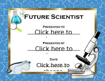 Future Scientist Award