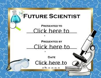 Future Scientist Award